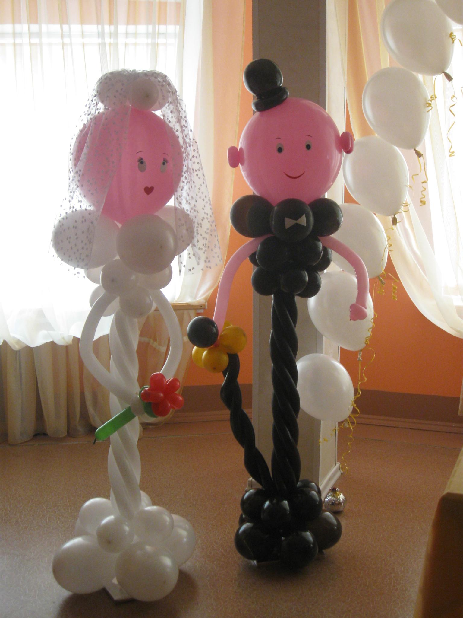 Сюрприз из шаров своими руками